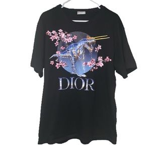 Dior Sonayama Club Black Tee